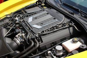 コルベットC7 Z06エンジン画像