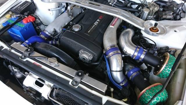BNR32 エンジン画像