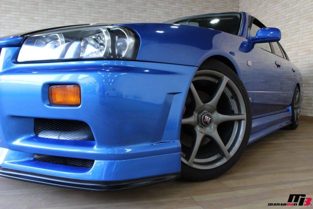 4スドアカイライン GT-R純正アルミ画像