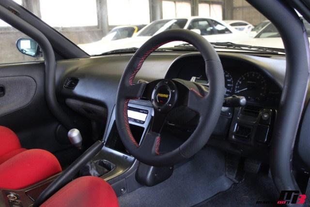 S13シルビアMOMOステイアリング画像
