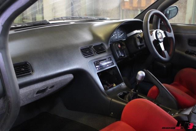 S13シルビア内装画像