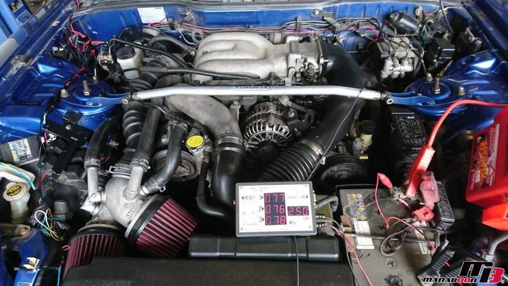 RX-7圧縮測定