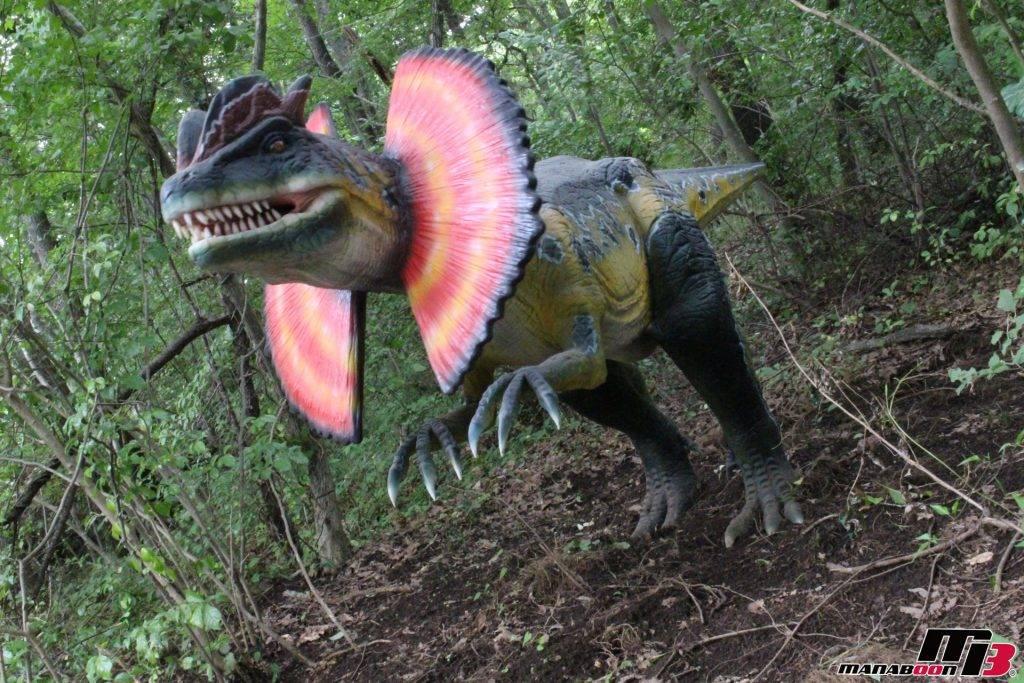 ディロフォサウルス画像