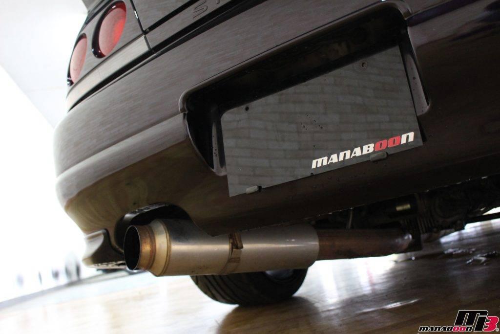 スカイラインGT-R(R33)アペックスマフラー画像
