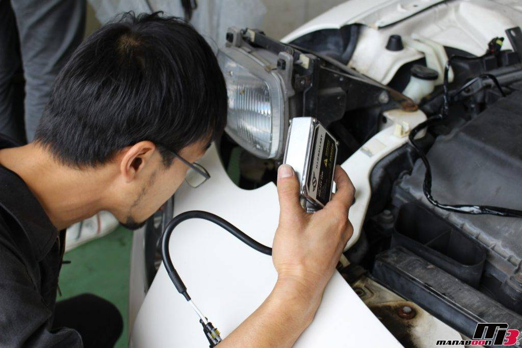 RX-7HID取付け画像