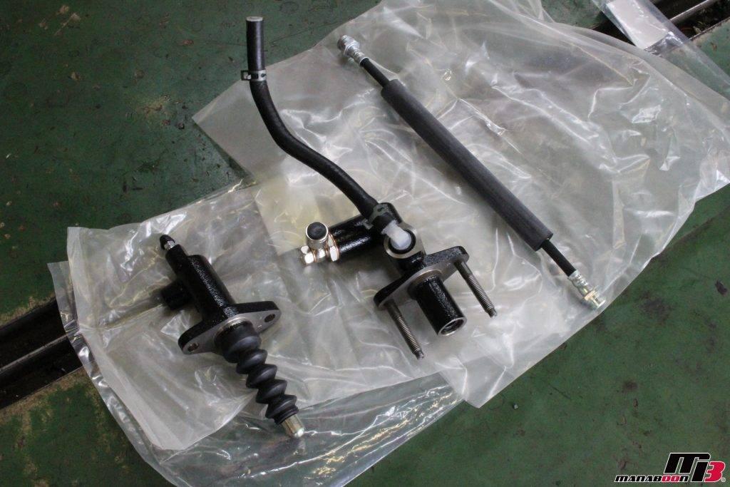RX-7(FD3S)クラッチレリーズ・ホース・マスター新品画像