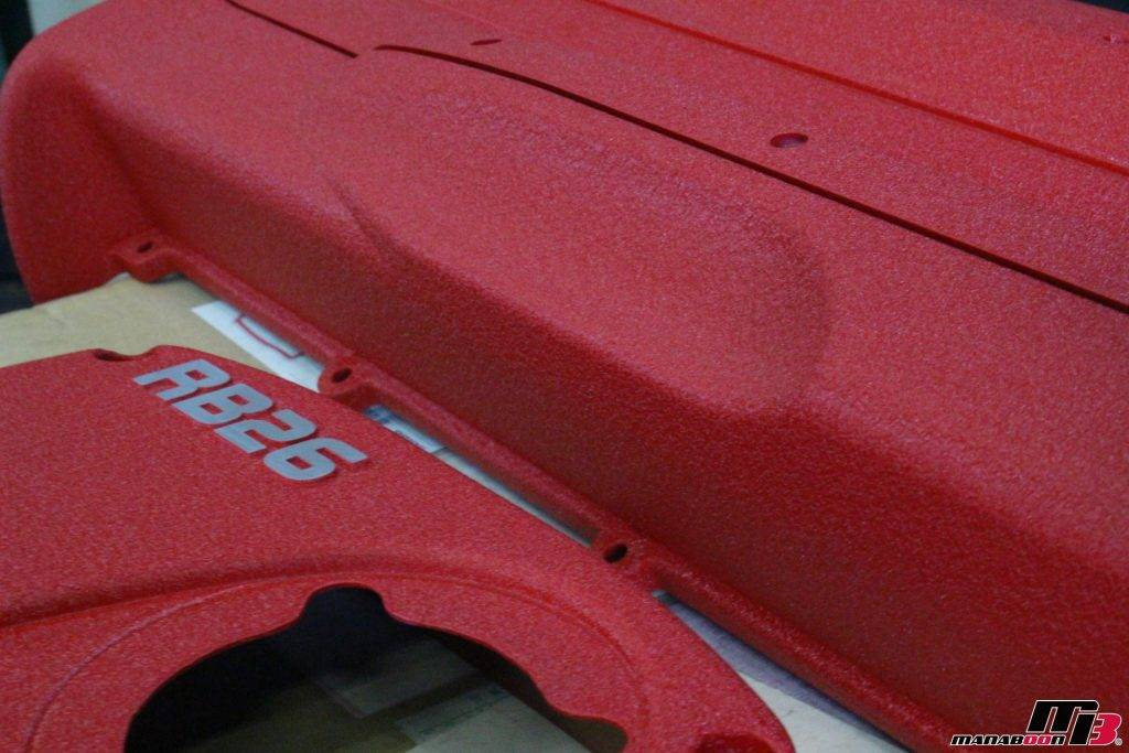 RB26DETT 結晶塗装済みヘッドカバー画像