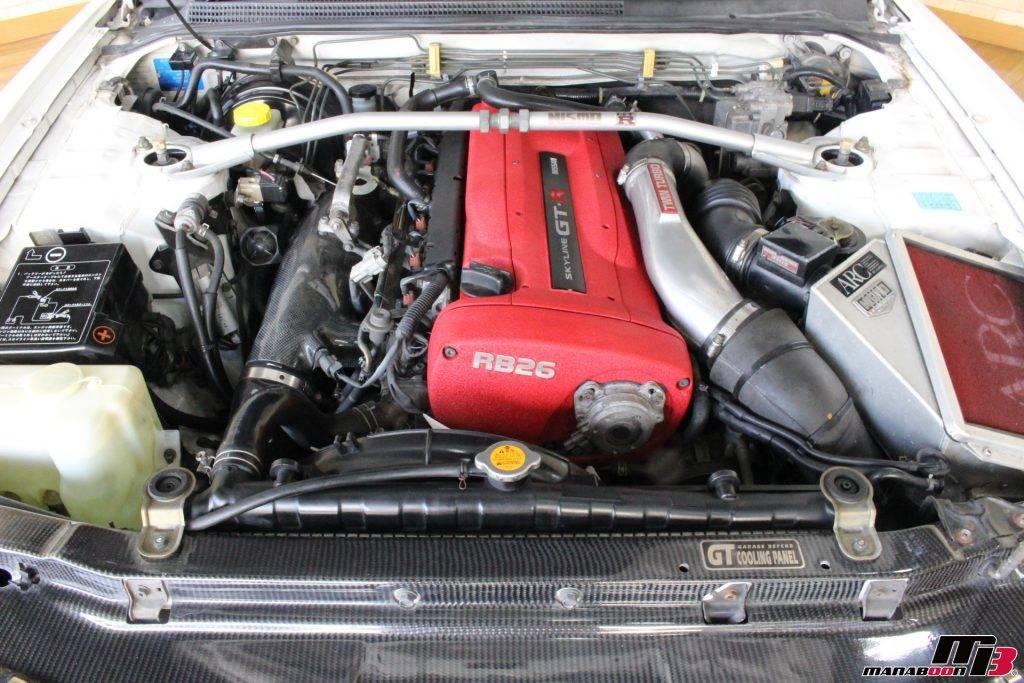 R33GT-R RB26DTT画像