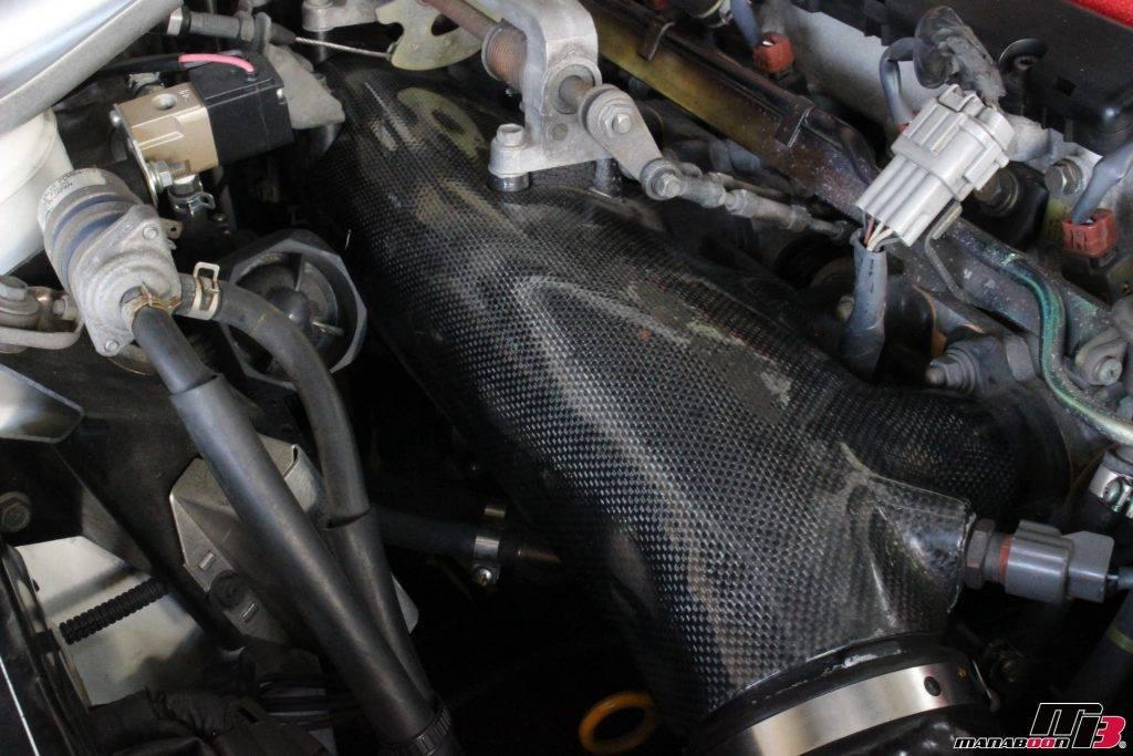 RB26DETT サージタンクカーボンカバー画像