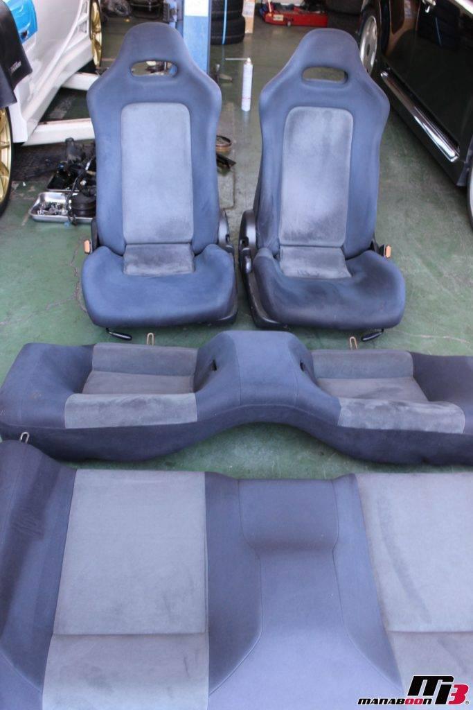 スカイラインR32GT-Rシート画像