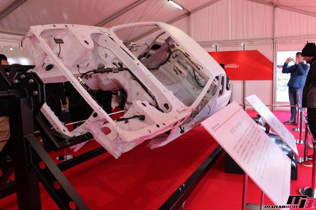 スカイラインGT-R(BNR32)ホワイトボディ