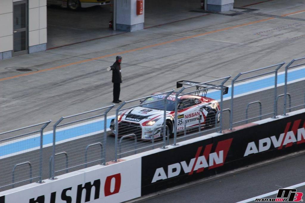 ブランパン耐久GT3 GT-R