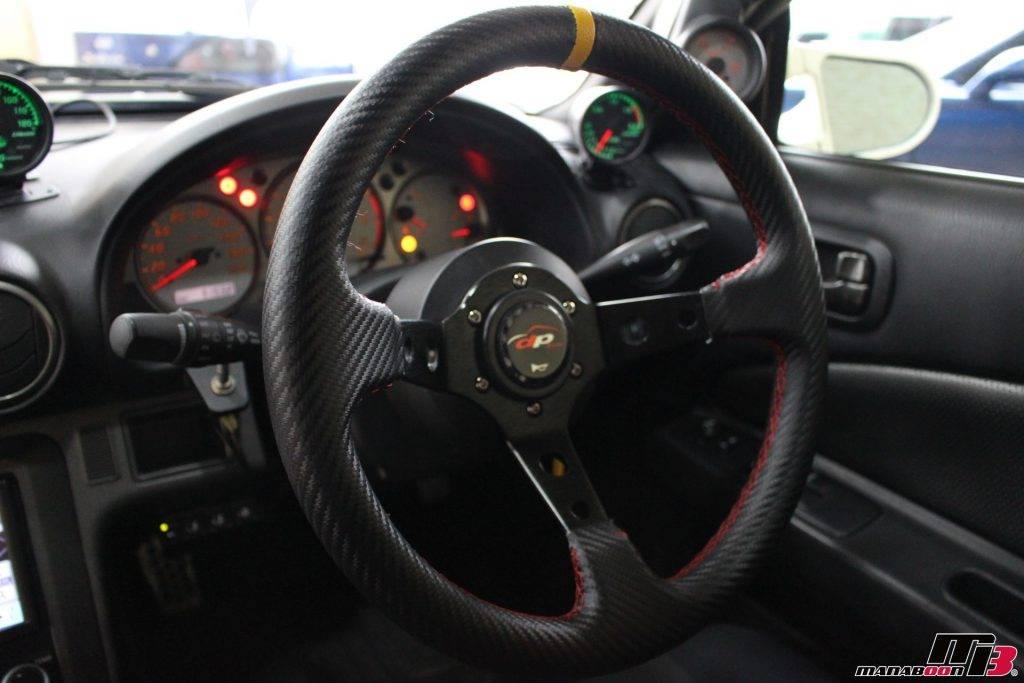 S15シルビアディープコーンタイプステアリング画像