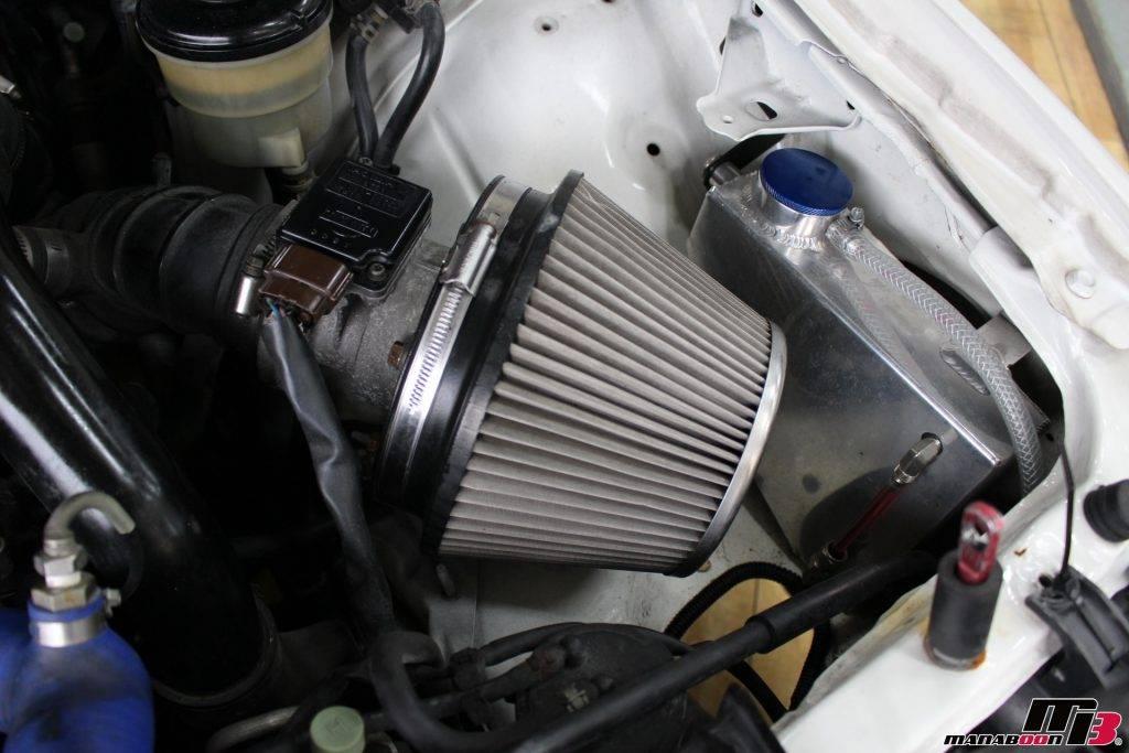 S15シルビア社外ウォッシャータンク画像