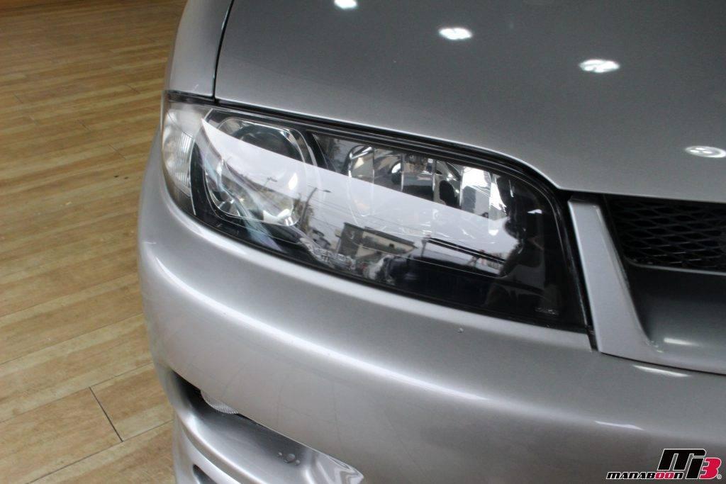 スカイラインGT-R ヘッドライト画像