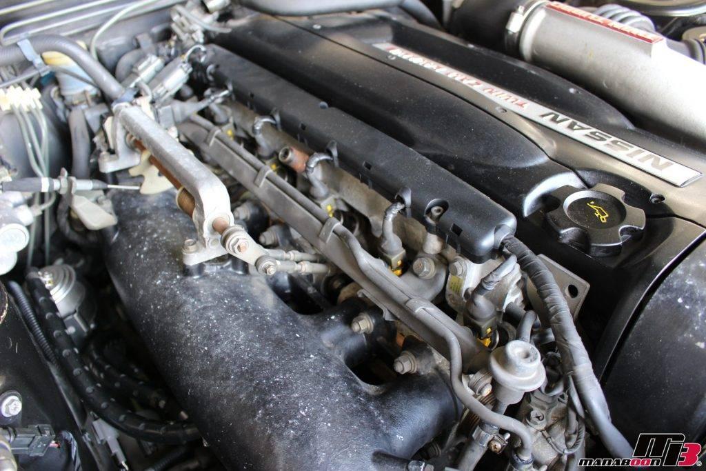 スカイラインGT-R(BNR32)インジェクター交換画像