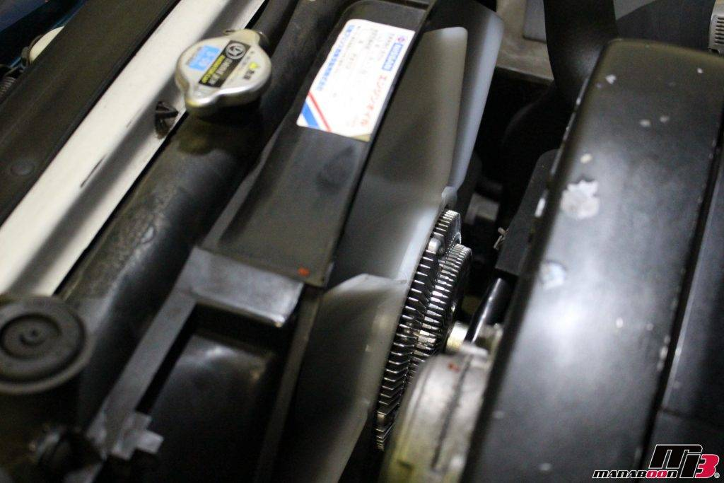 スカイラインGT-R(BNR32)ブロアファン&モーター交換画像