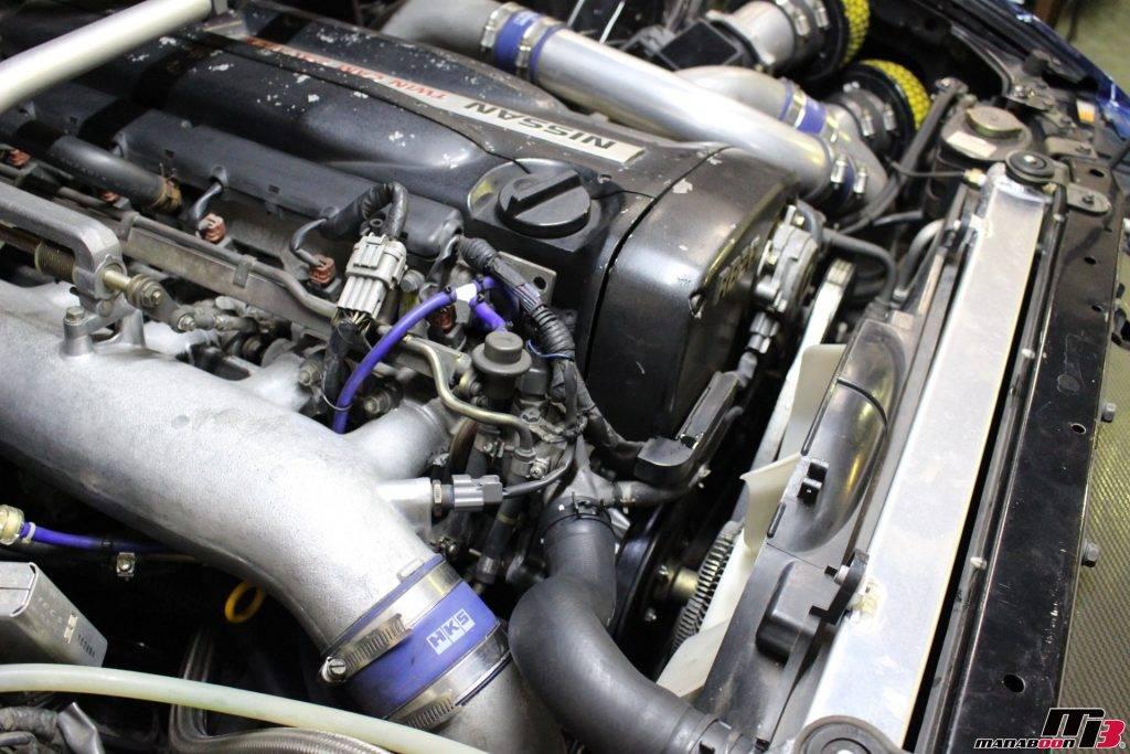 スカイラインGT-R(BCNR33)タイベル交換画像
