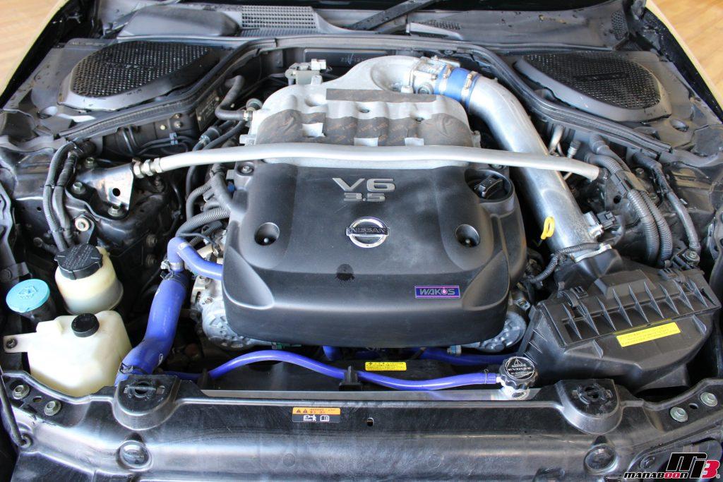 フェアレディZ33 エンジン画像