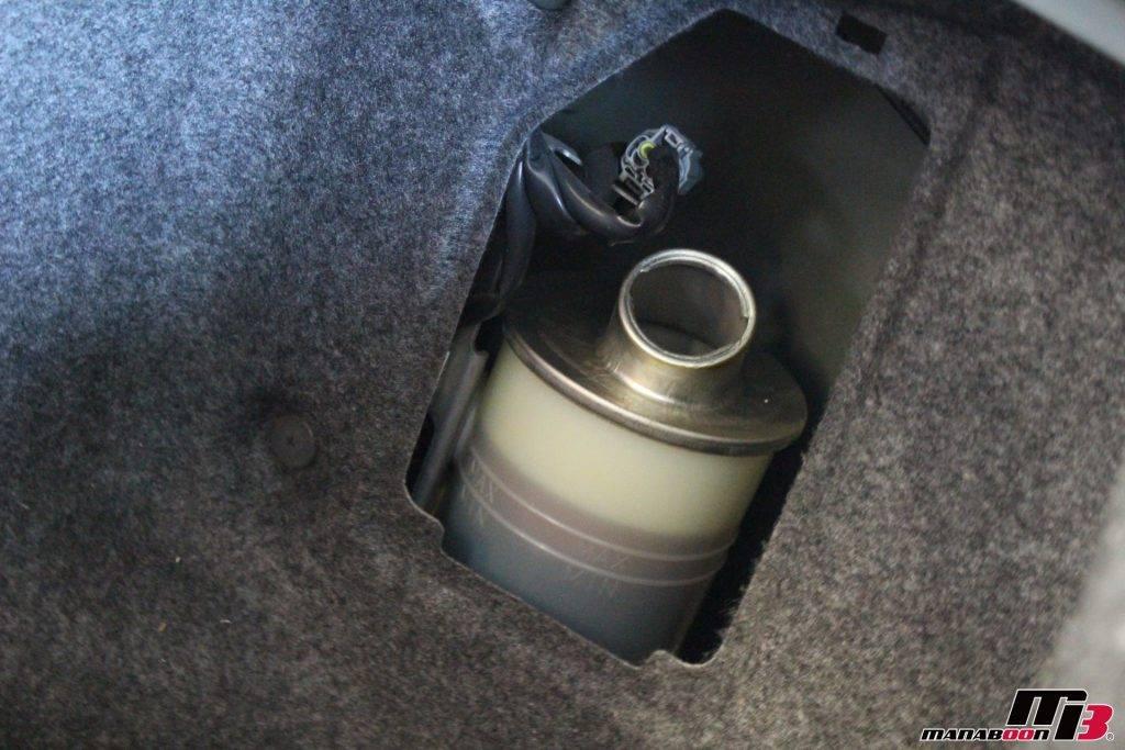 スカイラインGT-R(R33)オイル交換画像