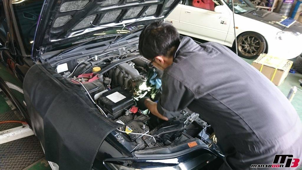 S15シルビアエンジンオイル交換