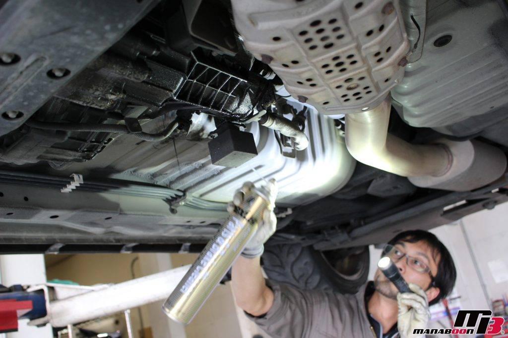 スカイラインGT-R(BNR34)Vspec入庫チェック画像