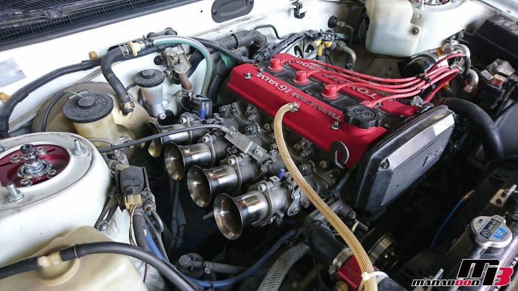 AE86結晶塗装ヘッドカバー画像