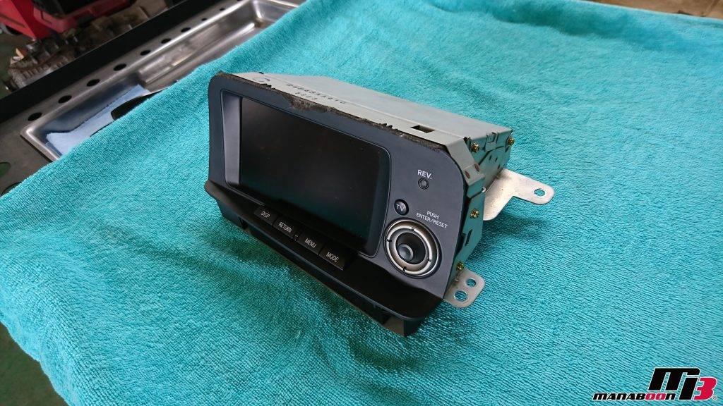 スカイラインGT-R(BNR34)マルチファンクションディスプレイ修理画像