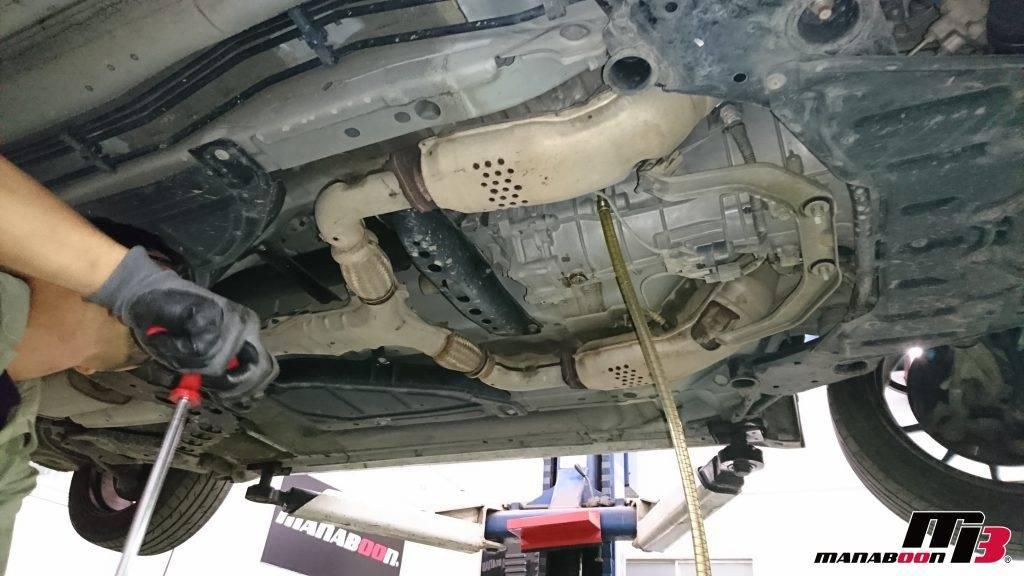 Z33ミッションオイル交換画像