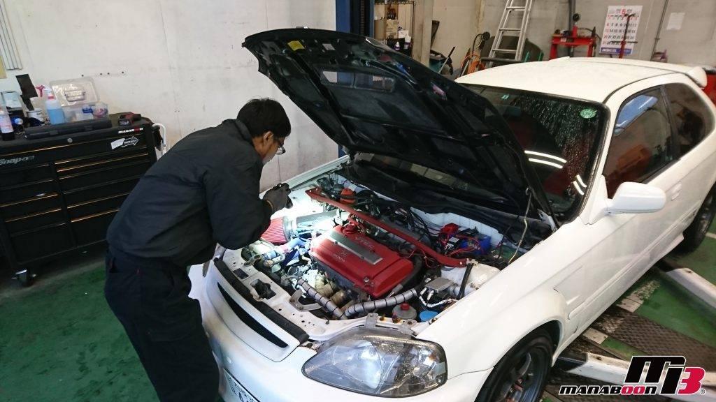 シビックタイプR(EK9)車検画像