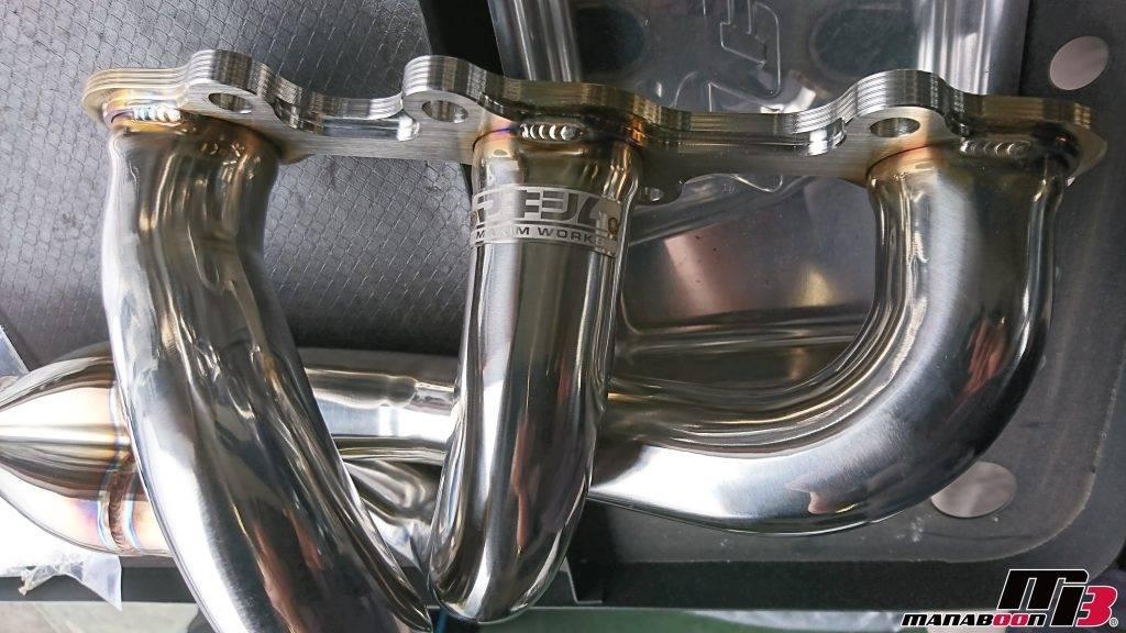 フェアレディZ(Z33)マキシムEXマニホールド取付画像