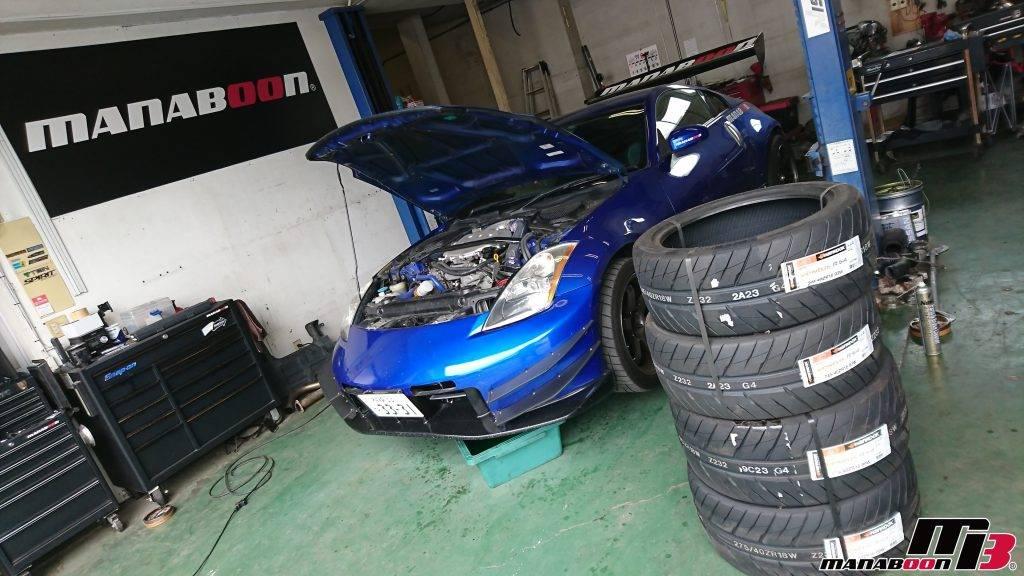 フェアレディZ(Z33)タイヤ交換画像