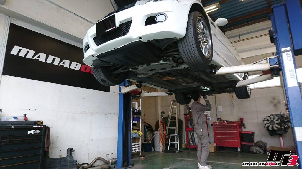 BMW M3(E46)点検整備画像