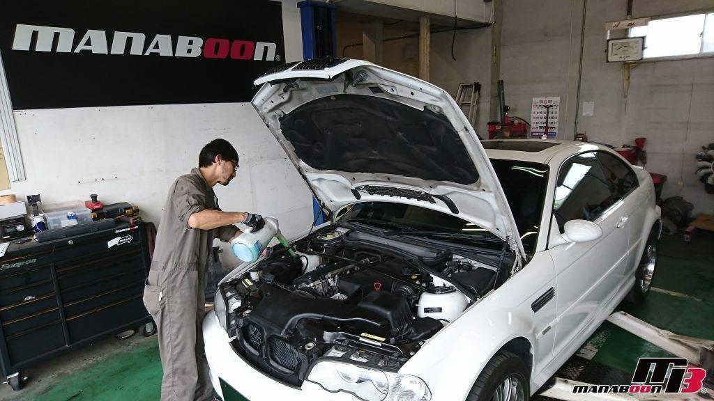 BMW M3(E46)LLC交換画像