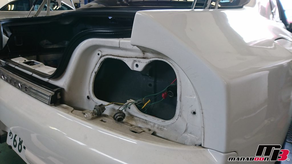 スカイラインGT-R(BCNR33)車検整備画像