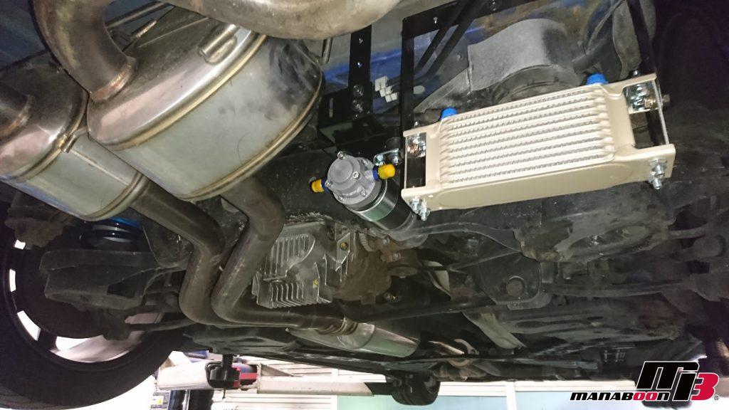 フェアレディZ(Z33)デフオイルクーラー取付画像