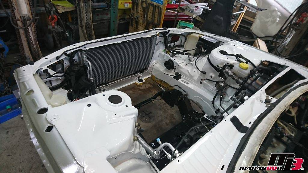 スカイラインGT-R(BNR32)事故修理画像