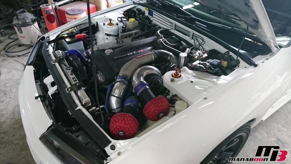 スカイラインGT-R(BNR32)MANABOONデモカー画像