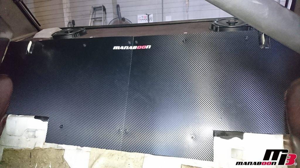 AE86リヤパネル取付画像