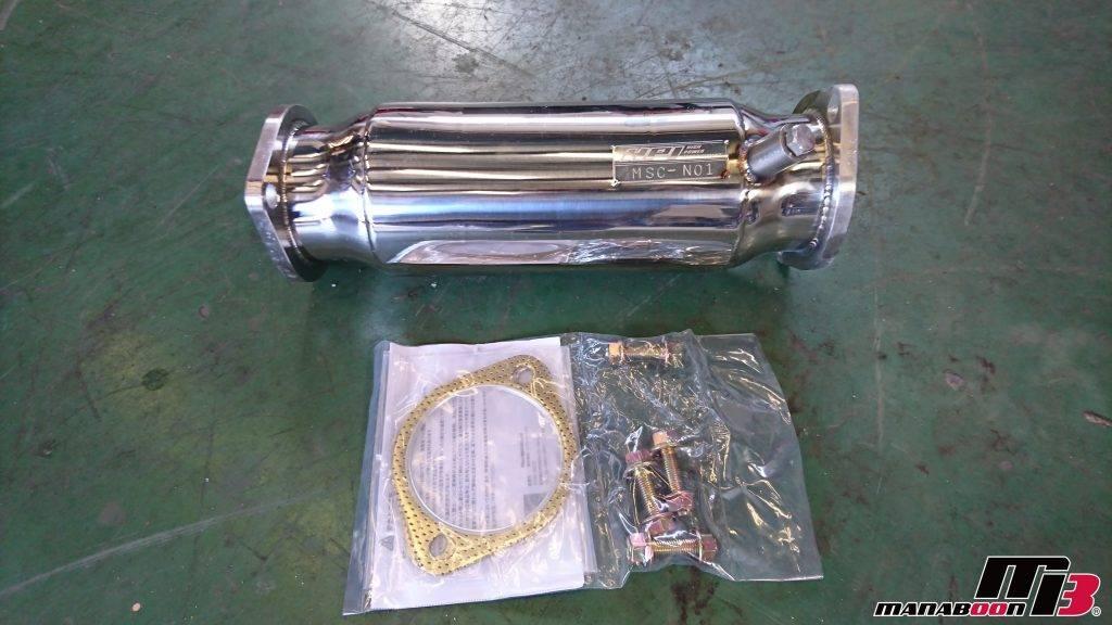 シルビア(S15)キャタライザー交換画像