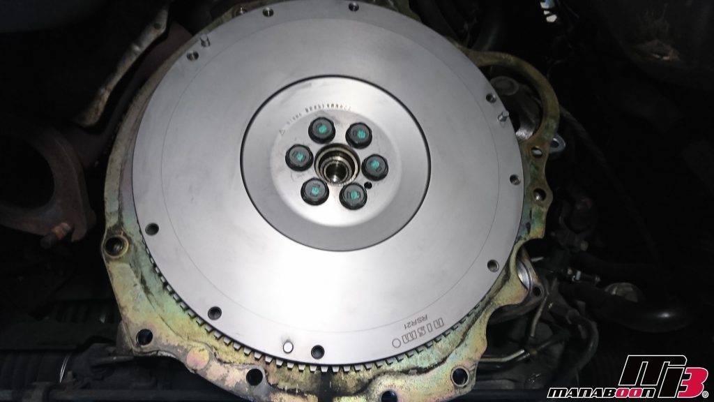 スカイラインGT-R(BCNR33)クラッチ交換画像
