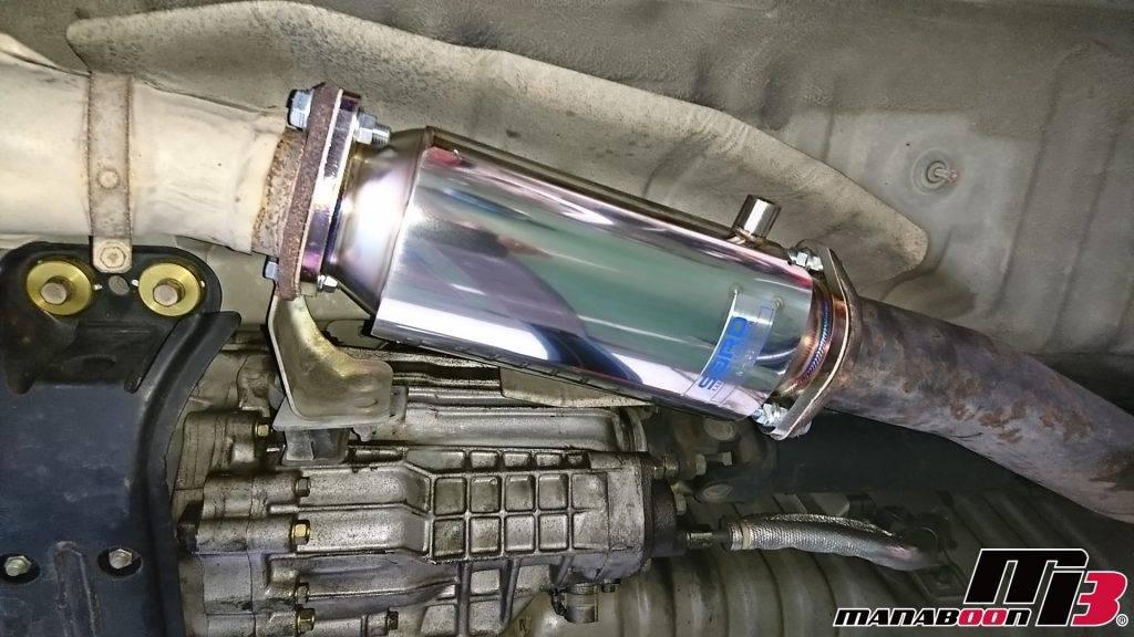 スカイラインGT-R(BCNR33)キャタライザー取付画像