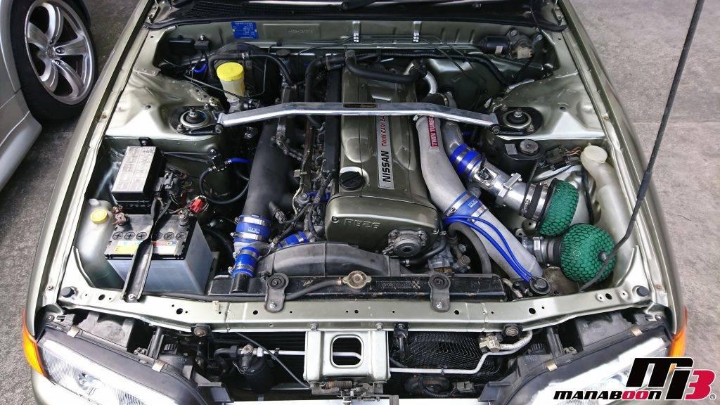 スカイライン(R32)現車セッティング画像