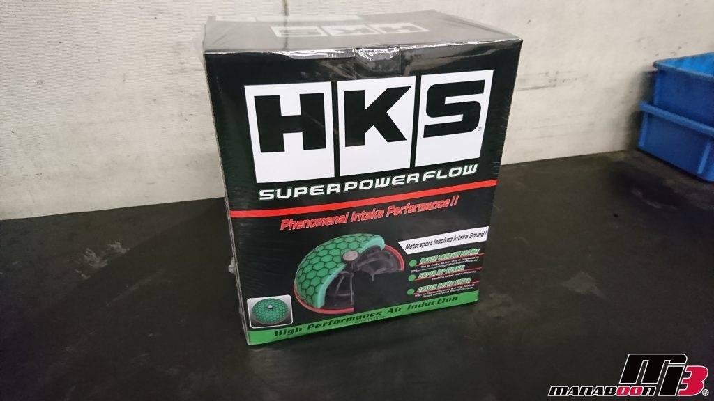 スカイラインGT-R(BCNR33)HKSスーパーパワーフロー取付画像