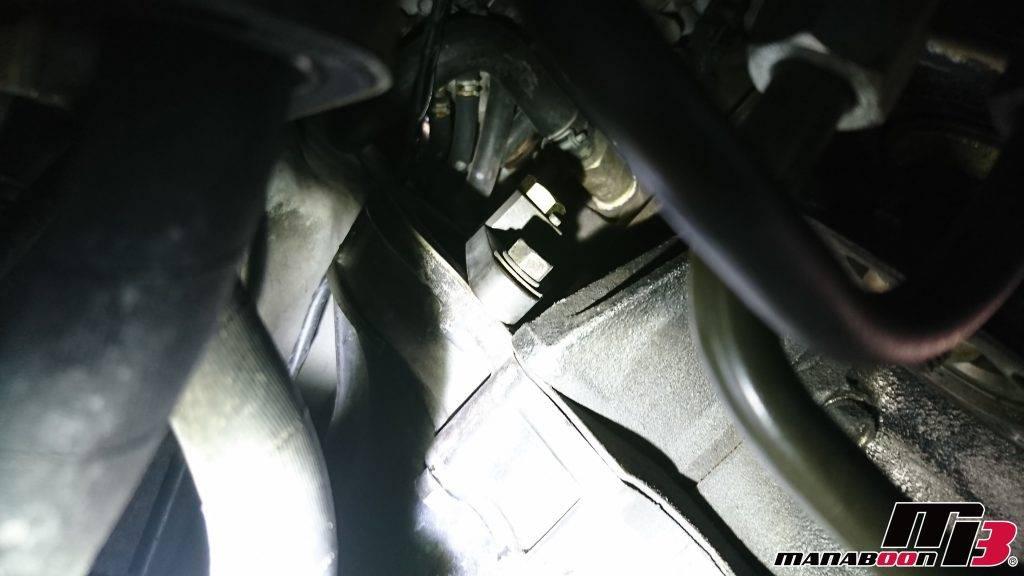 スカイラインGT-R(BNR32)フライホイールロック交換画像