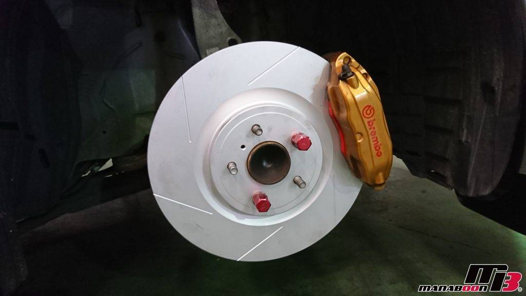 フェアレディZ(Z33)ビッグローター取付画像