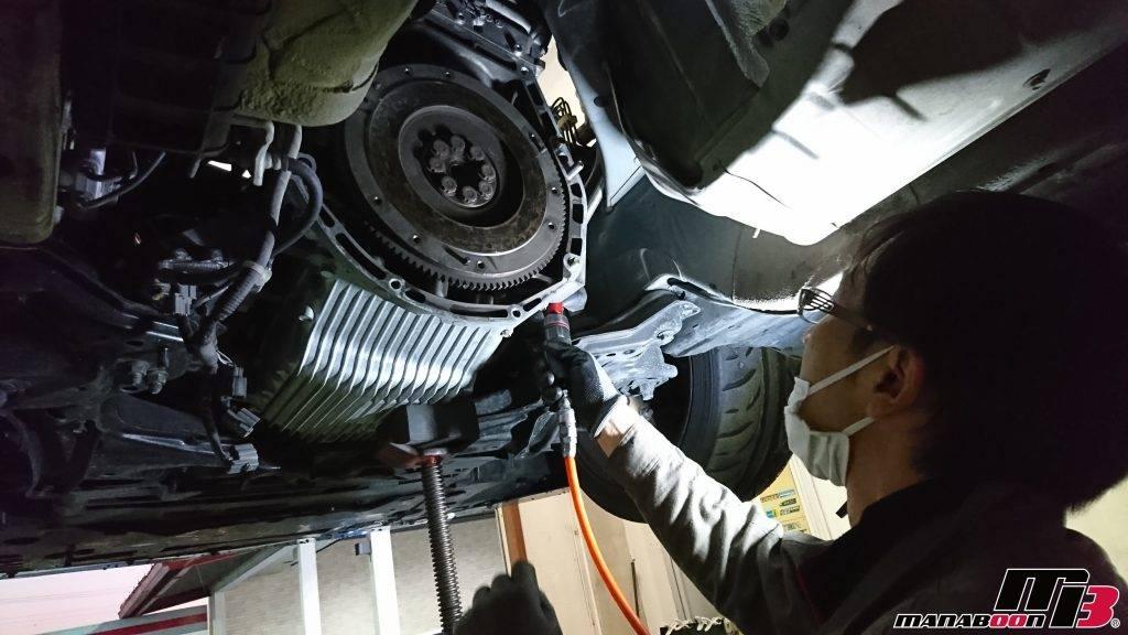 S2000(AP1)SPOONエンジンミッションマウント取付画像
