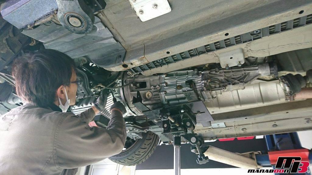 S2000(AP1)ミッション修理画像