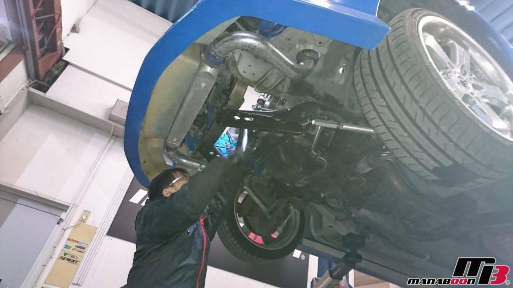 スカイライン25GTターボ(ER34)ニスモ強化タイミングベルト交換画像