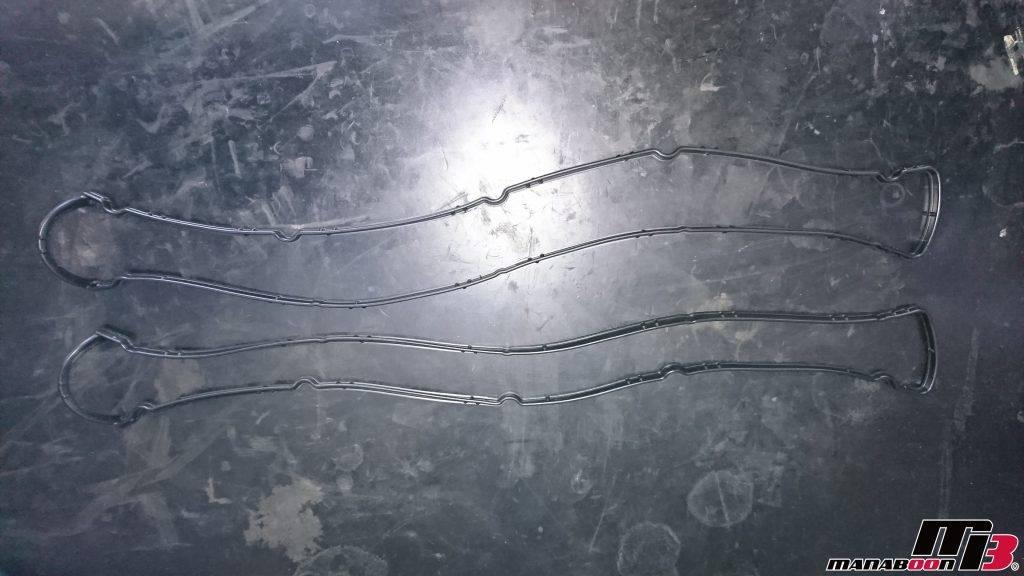 スカイライン(ER34)タペットカバーパッキン交換画像